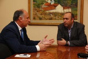 Seguridad: Ministro delasotista recibió a Accastello