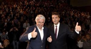 """De la Sota apuesta al """"voto útil"""" a Massa para ganarle a Scioli en el balotaje"""