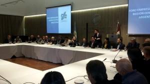 Cónclave del Foro de Empresarios con la OEA