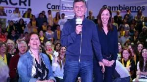 #25O Macri convocó a las mujeres peronistas a que lo acompañen con su voto