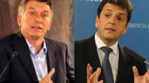 """Macri y Massa cruzan """"chicanas"""" por apoyo en segunda vuelta"""