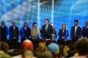 Escenario Balotaje: Massa reconoció la derrota y adelantó que habrá documento único