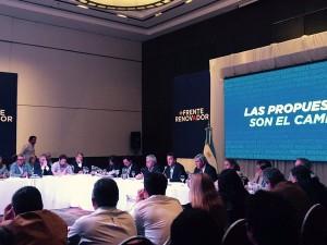 CumbreUNA:  De la Sota y Lavagna afirmaron que no votarán a Scioli