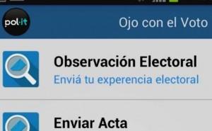 Para estas elecciones, se lanzó la primera app de observación electoral ciudadana