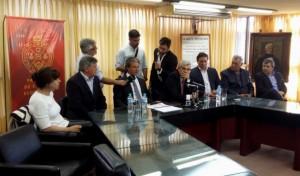"""Pepe Scioli a los intendentes radicales de Córdoba: """"Los recibimos con los brazos abiertos"""""""