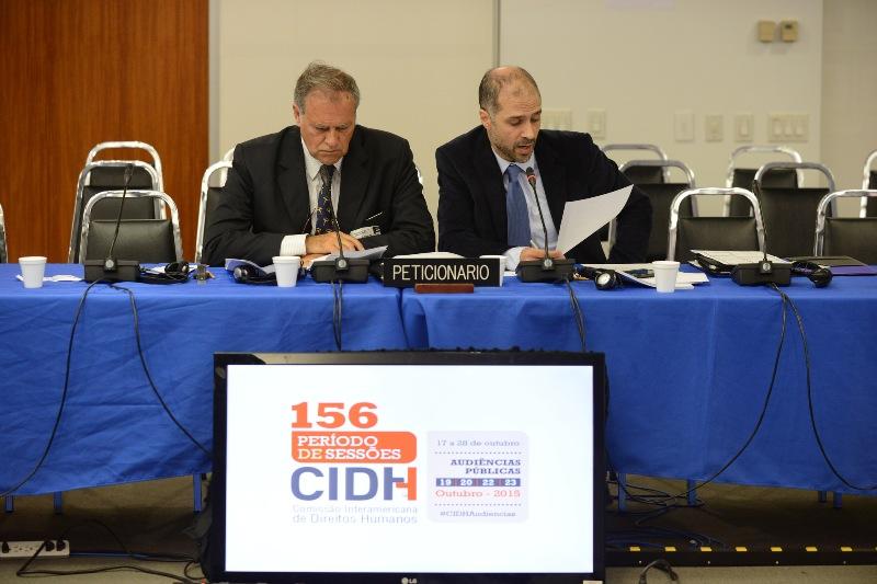 peticionantes audiencia CIDH