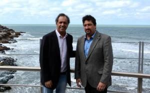 Junto a su futuro ministro del área, Scioli anunció Programa de Desarrollo Turístico