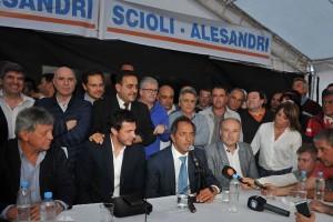 """Al igual que el radical Martino, Heredia aseguró que """"hay muchísimos más que están trabajando para Scioli"""""""