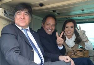 scioli y CFK juntos