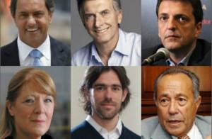 De cara a la elección del domingo, los seis candidatos cerraron sus campañas