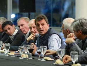 Massa señaló que quienes le tienen «miedo al ajuste» van a votar a Scioli