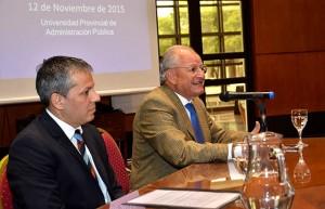 Albino disertó en el programa organizado por la UPAP y el IAE Business School