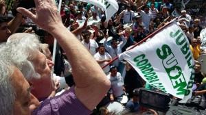Con 30 puntos de protestas, Municipales inician una semana más de conflicto, en rechazo al ESOP