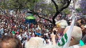 Conflicto por el Esop: «Vienen días largos de mucha lucha»
