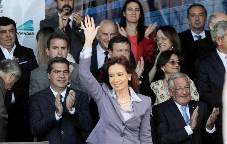CFK hoy miercoles 25 nov