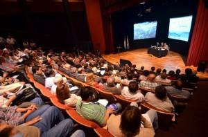 Debatieron sobre el uso productivo eficiente y sustentable del agua