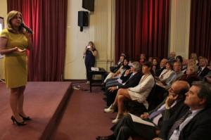 A días de finalizar su mandato, Pregno presentó su informe de gestión a la ciudadanía