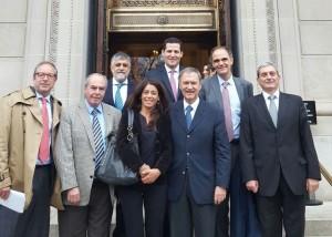 Agenda en EEUU: Schiaretti se reunió con el vicepresidente del Banco Mundial