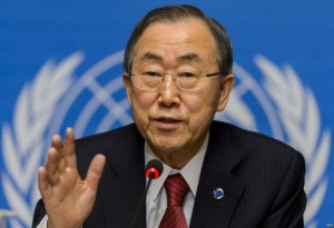 Ban Ki-moon afirmó que es necesaria una respuesta contundente a los ataques en París