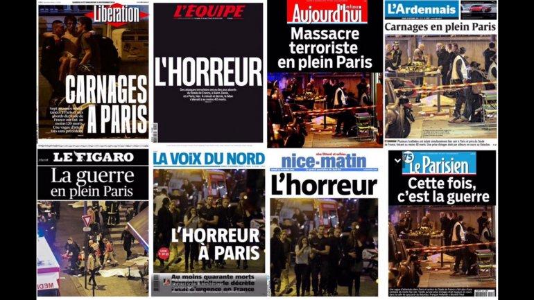 ataques paris
