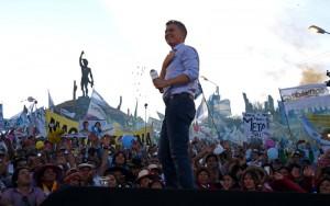 """Desde el norte del país, Macri prometió """"cambiar la vida de los argentinos"""""""