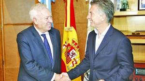 Política Exterior: A pocos días de asumir, Macri mantiene diálogo con canciller español García-Margallo
