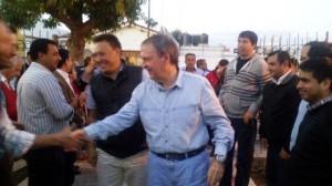 """El cierre de campaña en Cruz del Eje, se convirtió en """"escenario"""" de figuras de peso político"""
