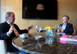 Relación Nación/Provincia: Una clara señal de buena sintonía, en primer encuentro de Schiaretti y Macri