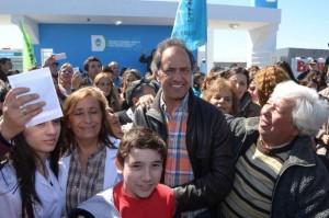 Scioli se comprometió a  duplicar los reintegros para beneficiar a economías regionales