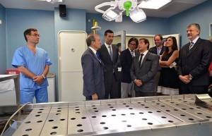Con la presencia de Garavano, Urtubey inauguró el servicio de Tanatología Forense