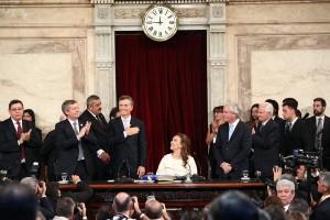 """Tras jurar, Macri se comprometió a trabajar """"incansablemente"""" para que los argentinos vivan mejor"""