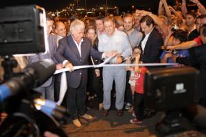 """En el último día como gobernador, De la Sota dejó inaugurada su """"obra monumental"""""""