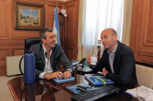 Ferrocarriles: Más que buena sintonía en la reunión entre Randazzo y Dietrich, con apuesta a continuar con plan quinquenal