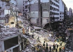 atentado AMIA ruinas edificio