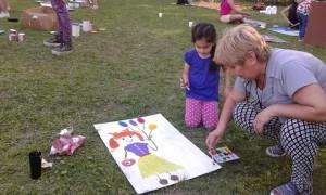 carteles obras de arte niña