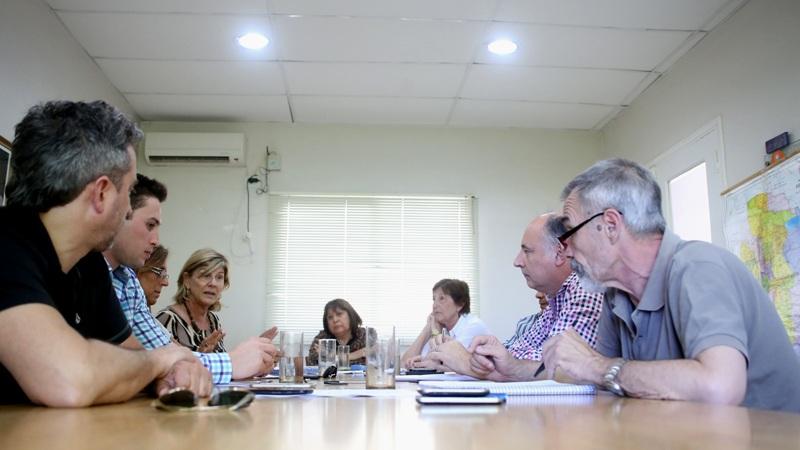 reunion accastello y legisladores
