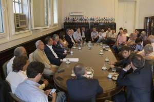 Junto a Scioli, el Kirchnerismo-PJ en Diputados, renovó su rechazo a medidas impulsadas por la gestión de Macri