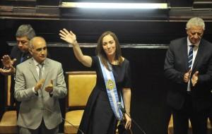 Vidal renovó garantías del pago de los salarios bonaerenses