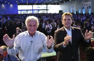 Tras recibir el respaldo de Macri, Massa ratificó el apoyo a De la Sota para conducir el Peronismo