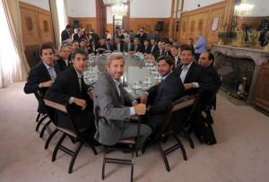 Con los representantes de las provincias, Frigerio dio inicio al debate por la reforma política