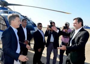 Macri apoyó a Mestre en la puesta en marcha del ESOP
