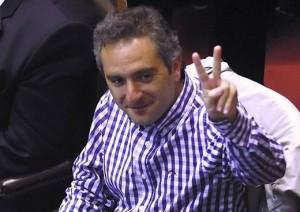 Al defender «el liderazgo de Cristina» en el PJ, Larroque criticó a Massa