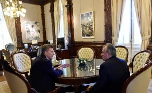 En el marco de la detención de Sala, Morales se reunió con Macri