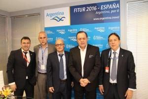 reunion bañuelos air europa FITUR