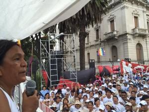 "Capitanich afirmó que Milagro Sala es una ""presa política"""