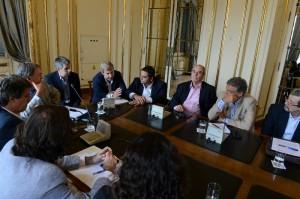 Schiaretti y ministros del gabinete macrista trazaron lineamientos de trabajo de cara a la reunión del 26, en Córdoba