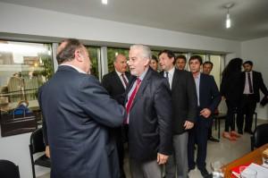 Angulo y representantes de abogados, trazaron ejes que guiarán las reformas procesales