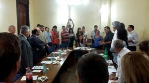 """Unicameral declaró su """"preocupación"""" ante la situación de los periodistas de La Mañana de Córdoba"""