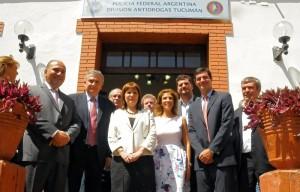 Inauguran organismos de seguridad con jurisdicción regional