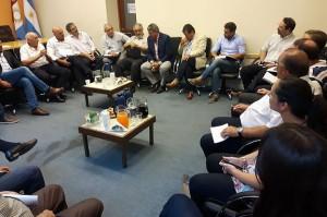 En el ámbito de la Región Centro, entidades empresarias se reunieron en la UIC